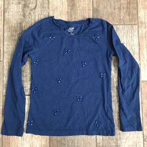 Girls Blue long sleeve